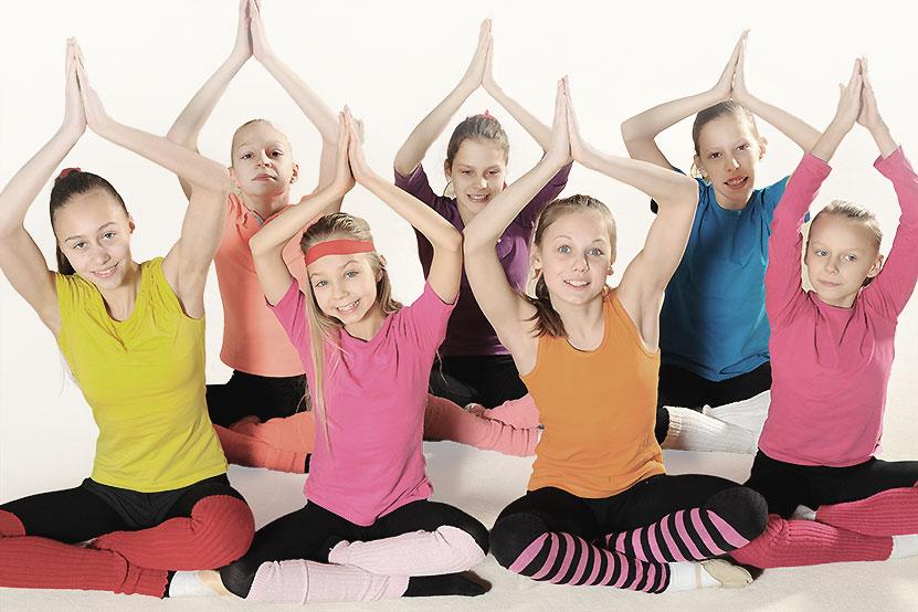 Yoga für Grundschulkinder